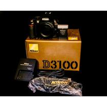 Cámara Nikon D3100 (1.5k Disparos) Accesorios Completos