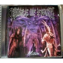 Cradle Of Filth - Midian (cd 2000) Metal / Uk Pressing Nuevo