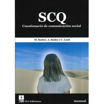 Cuestionario De Comunicación Social Scq