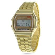 Reloj Digital Led Wr Alarm Chrono