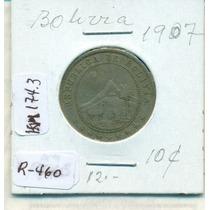 Moneda De Niquel De 10 Centavos De 1907