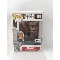 Figura De Colección Marca Funko De Ig-88 Star Wars