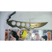Cuchillo Puño Americano Naruto Anime Cosplay Metal Asuma Cha