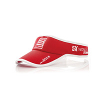 Visera Compressport Rojo