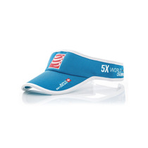 Visera Compressport Celeste