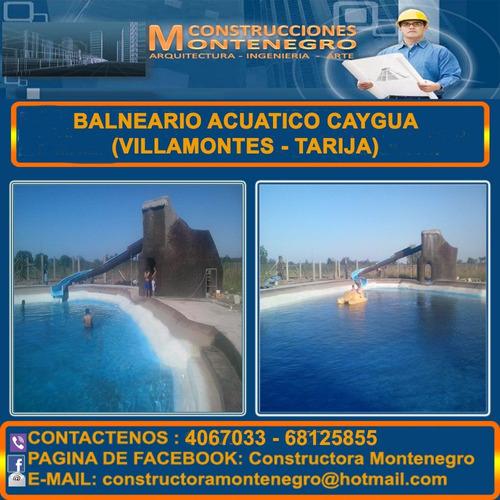 Constructora Montenegro, Parque Y Juegos Acuáticos Hermoso