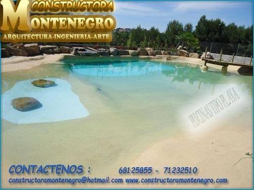 Constructora Montenegro, Piscians Tipo Playa